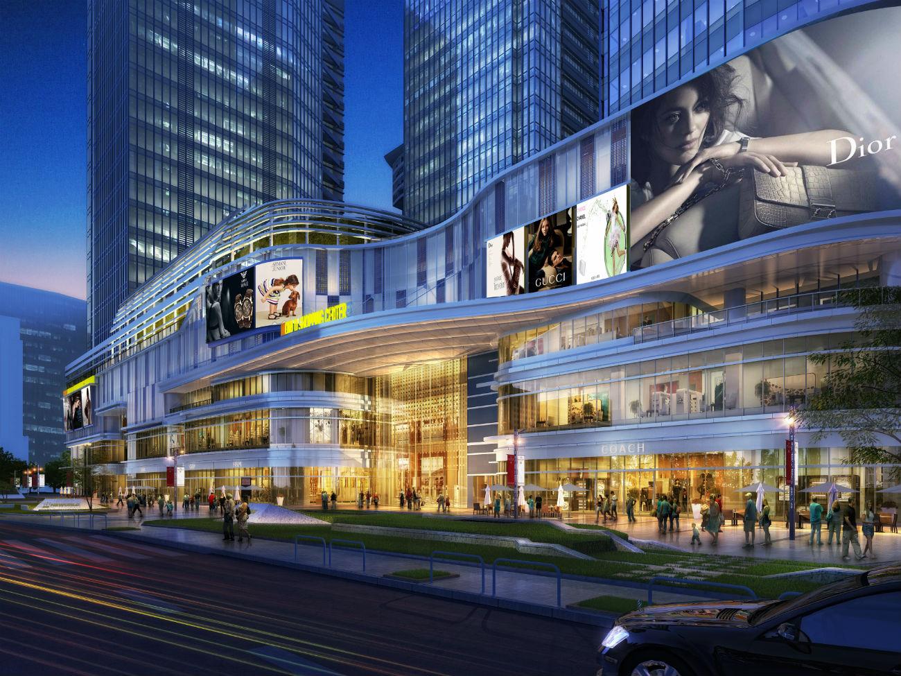 西安高新NEWORLD项目商业裙房招租公告